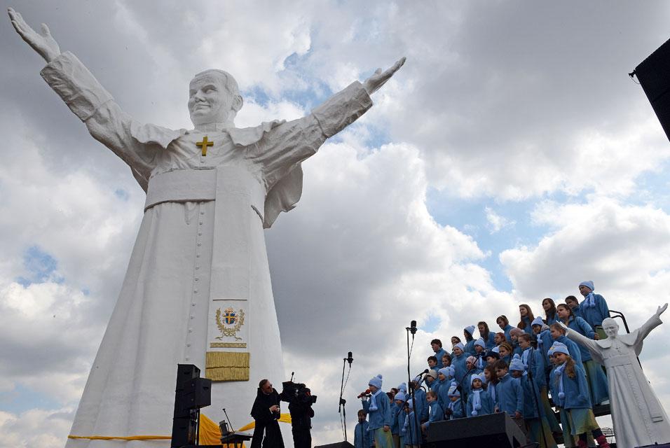 Najwyższy pomnik Jana Pawła II – Częstochowa