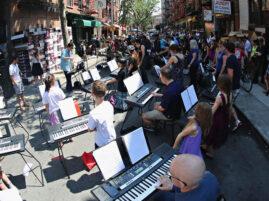 Najwięcej osób grających na keyboardzie