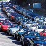 Największy zlot - Mazda
