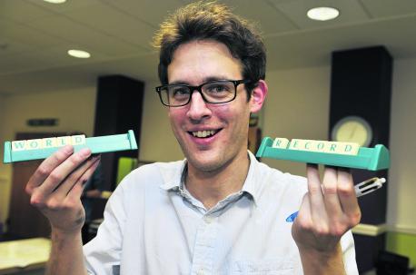 Rekord w graniu w Scrabble