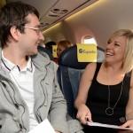Speed dating - szybkie randki w samolocie - rekord Guinessa