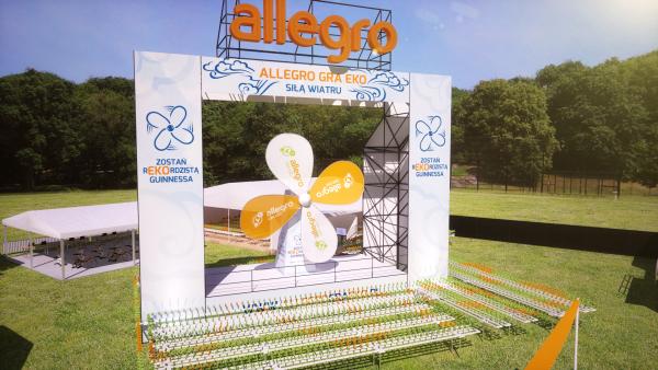 Allegro - rekord Guinessa - Woodstock 2013
