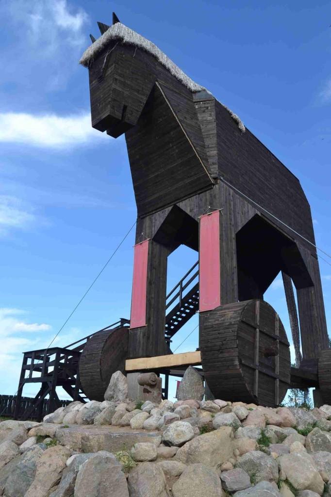 Największy koń trojański na świecie