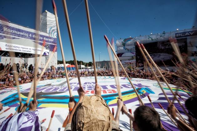 Rekord Guinnessa zPlay - Woodstock 2013