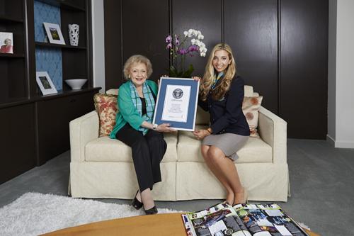 Betty White – najdłuższa kariera telewizyjna świata