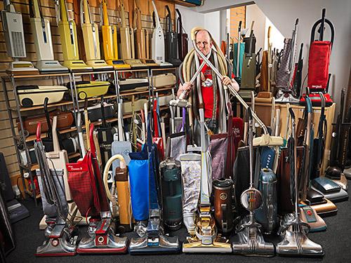 Największa kolekcja odkurzaczy