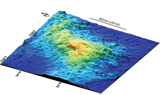 Największy wulkan naZiemi