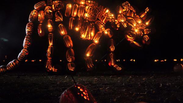 Najpiękniejsze rzeźby z lampionów - wystawa - New York