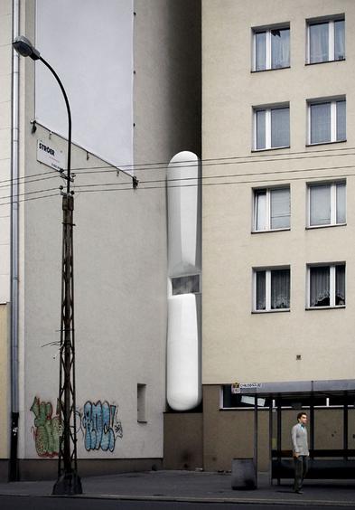 Najwęższy dom świata - Warszawa