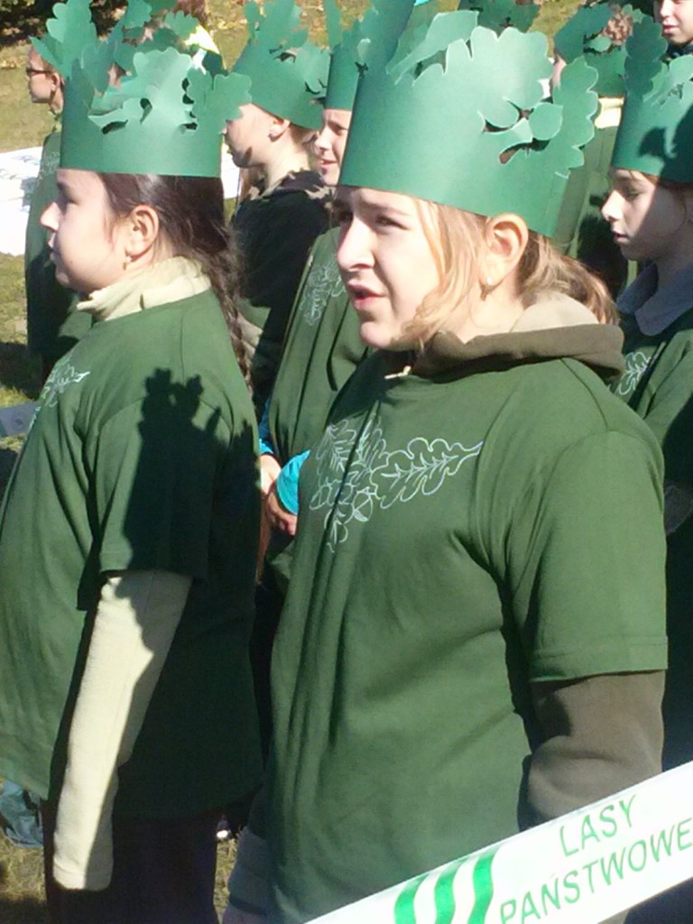 Najwięcej osób przebranych zadrzewa - Gołuchów