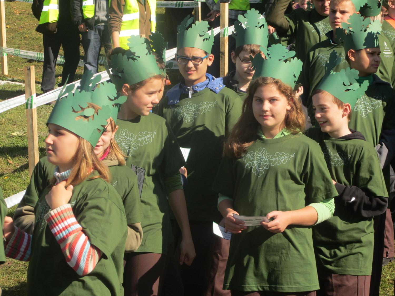 Najwięcej osób przebranych za drzewa - Wielkopolska