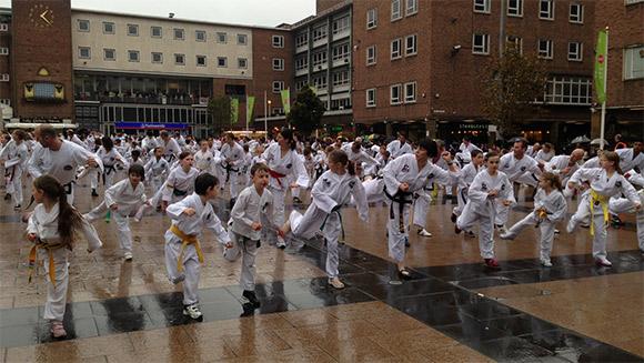 Najwięcej osób uprawiających taekwondo