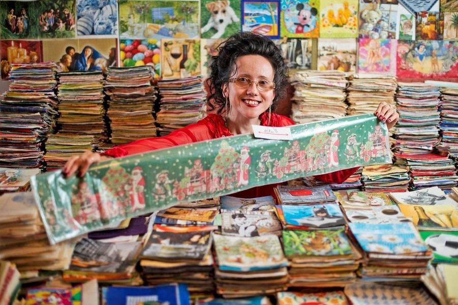 Największa kolekcja papierowych serwetek
