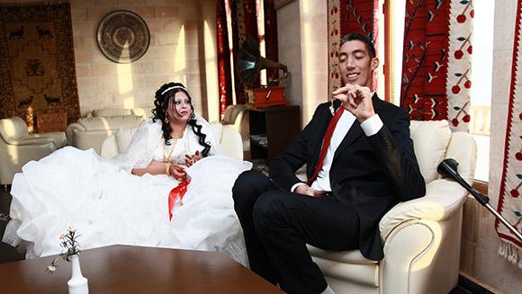 Najwyższy człowiek naświecie wziął ślub