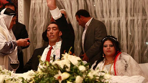 Najwyższy mężczyzna naświecie - ślub