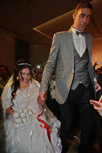 Najwyższy mężczyzna - ślub
