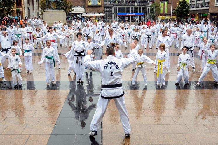 Rekord Guinessa w taekwondo