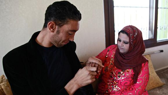 Sultan Kosen - ślub
