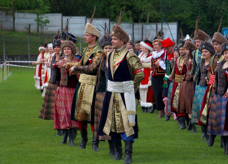Tańczenie poloneza - Rekord Guinnessa