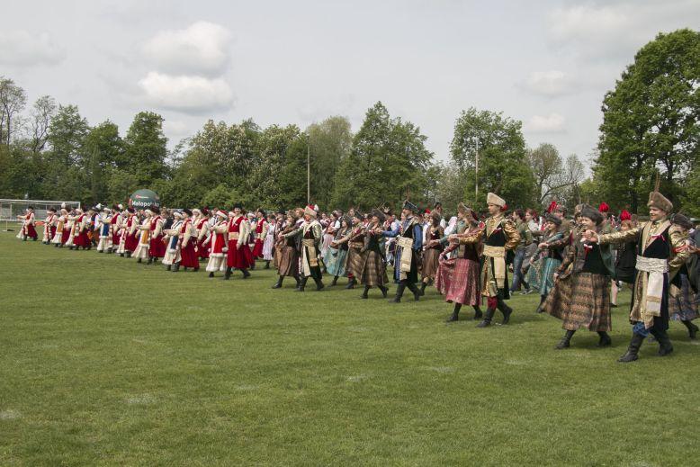 Wieliczka - polonez - Rekord Guinnessa 2015