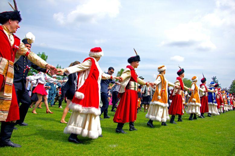Wieliczka - Rekord Guinnessa - polonez - 2015