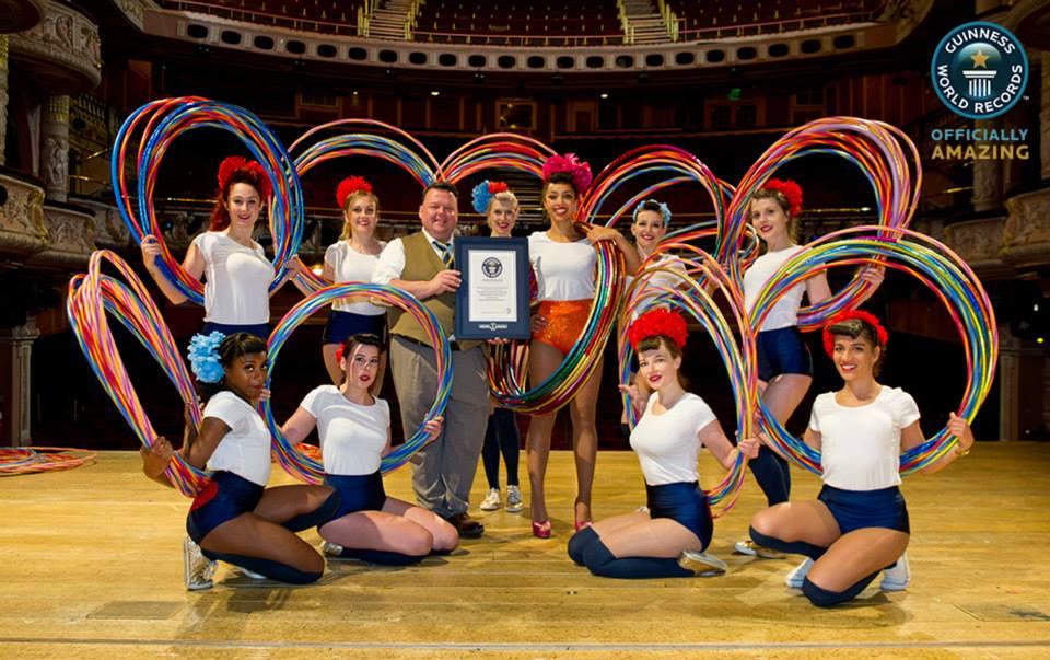 Hula-hoop - rekord