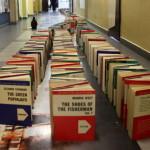 Najdłuższe domino z książek - rekord Guinessa