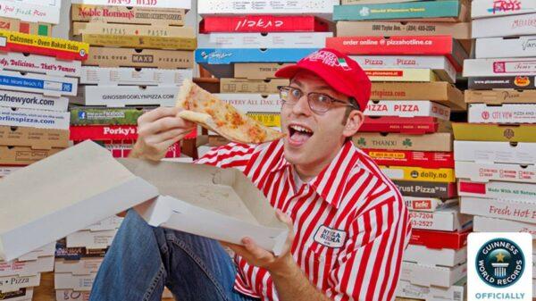 Najwięcej pudełek od pizzy