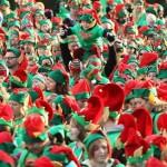 Największe zgromadzenie elfów Świętego Mikołaja