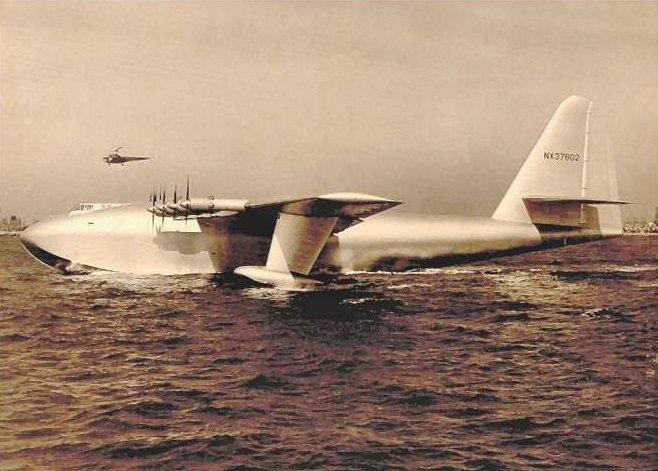 Największy samolot konstrukcji drewnianej