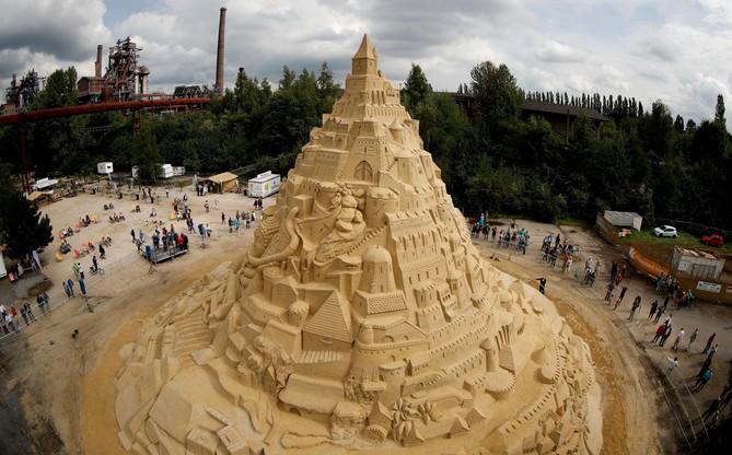 Największy zamek z piasku - Rekord Guinnessa