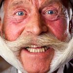 Wąsy, które zdobyły rekord Guinnessa!