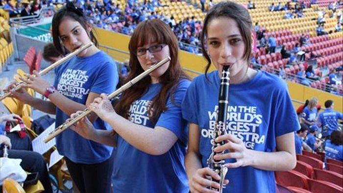 Największa orkiestra świata - rekord Guinessa
