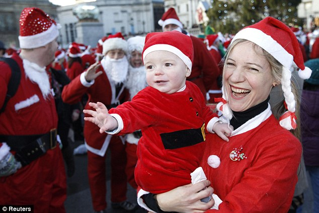 Największy zlot Świętych Mikołajów