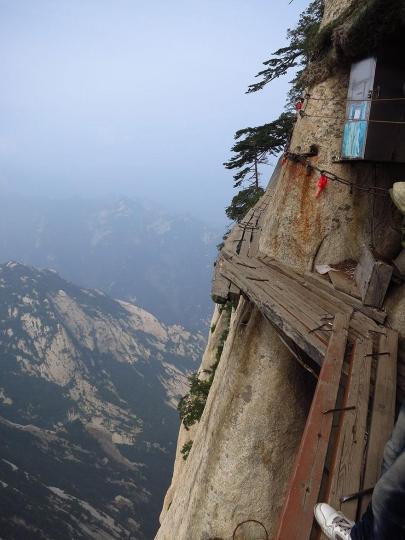 Najniebezpieczniejszy szlak górski