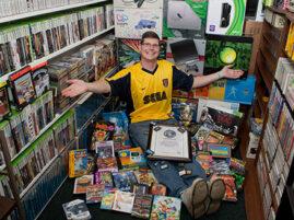 Największa kolekcja gier wideo