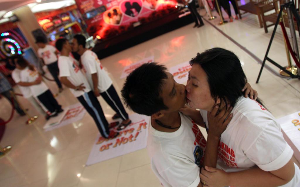 Najdłuższy pocałunek