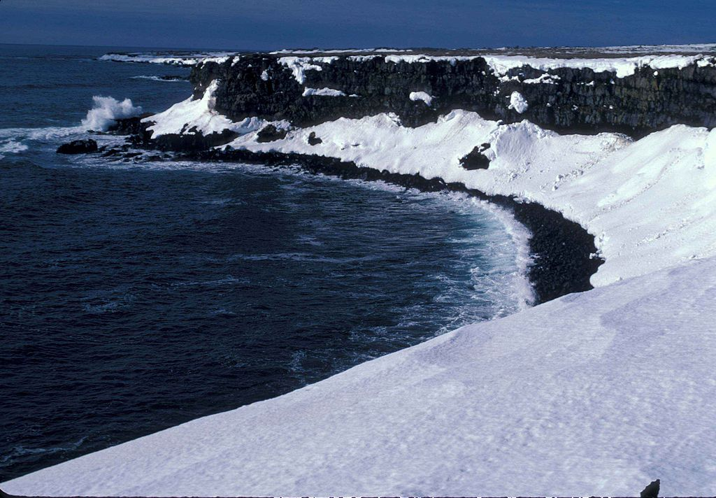 Największe morze świata - Morze Beringa