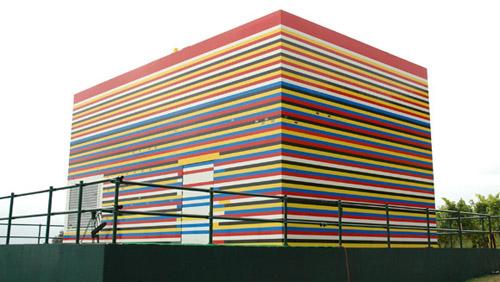 Największy dom zklocków Lego