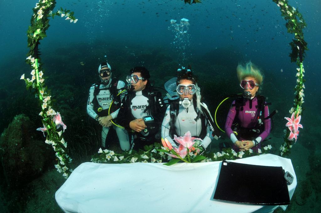 Ślub podwodą