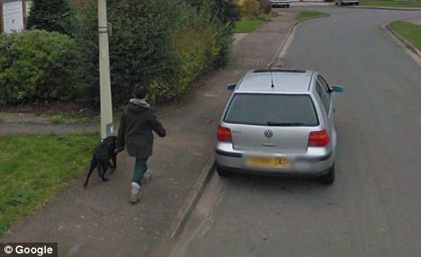 Najpopularniejsza osoba naGoogle Street View