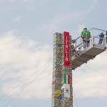 Najwyższa wieża z klocków Lego - Mediolan