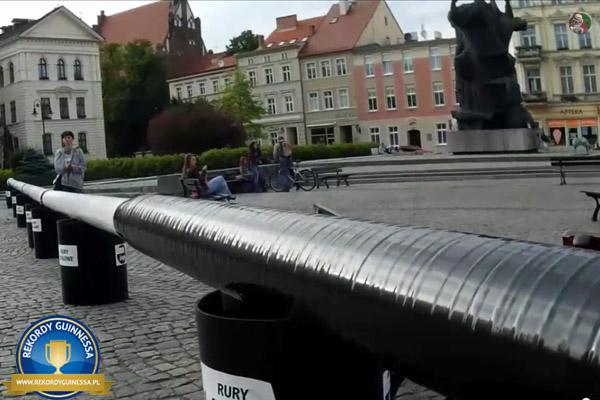 Najdłuższa biała laska dla osób niewidomych - Bydgoszcz