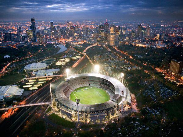 Melbourne Cricket Ground wAustralii