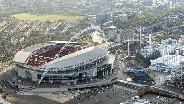 Stadion Wembley wWielkiej Brytanii
