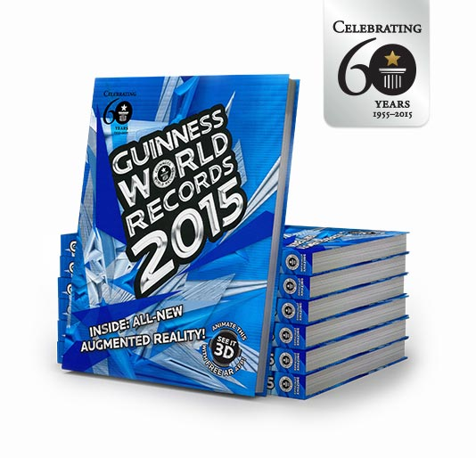Księga Rekordów Guinessa 2015