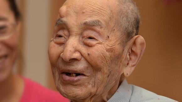 Najstarszy mężczyzna świata - Yasutaro Koide