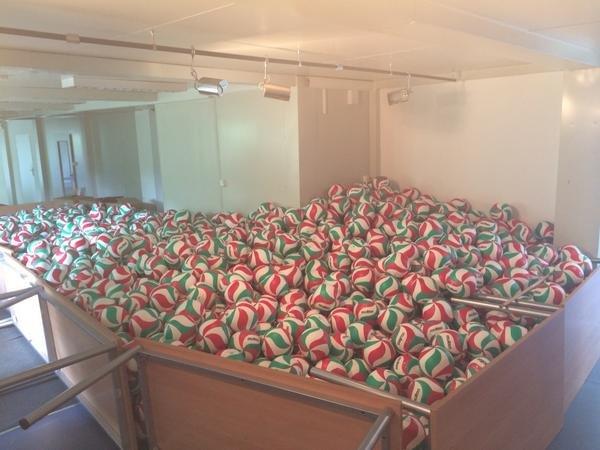 Podbijanie piłki dosiatkówki - rekord Guinessa