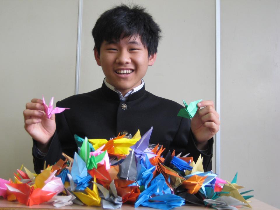 Żurawie origami - rekord Guinessa