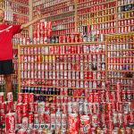 Coca cola - największa kolekcja puszek